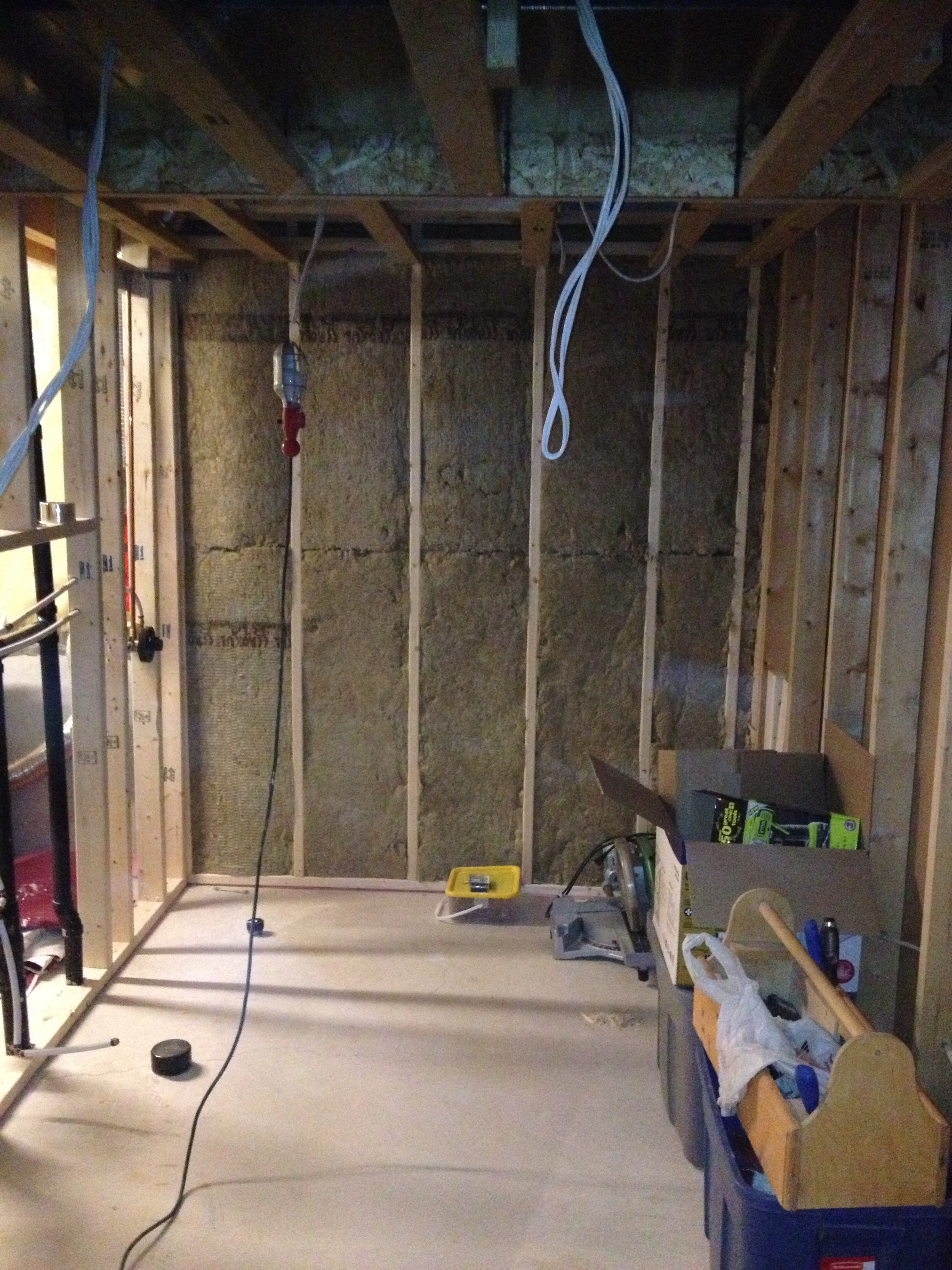 Maidstone Basement Conversion Revival Home Renovations Wiring Insulation