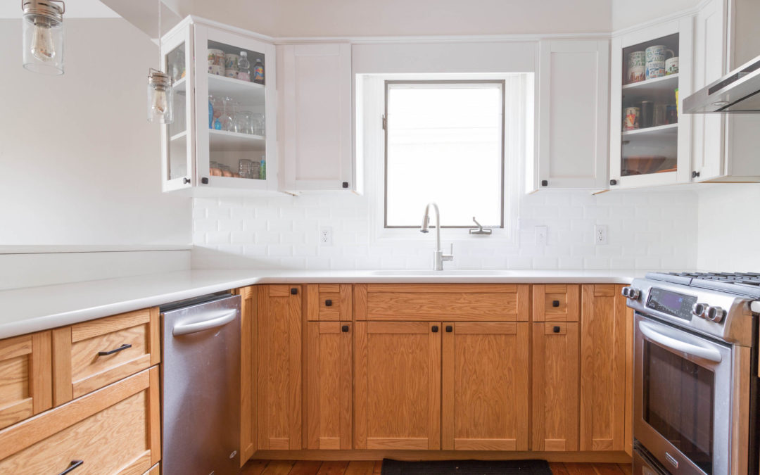 Featured: Two Tone Kitchen Refacing