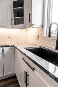 Discover the restaurant appeal with sink large enough for all your cleanup needs